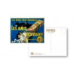 """Carte Postale -"""" Réclame des Années 30"""""""