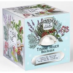 Tisanes  Hiver Bio - Cube métal 24 sachets