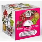 Tisanes fruits rouge - Cube 24 sachets
