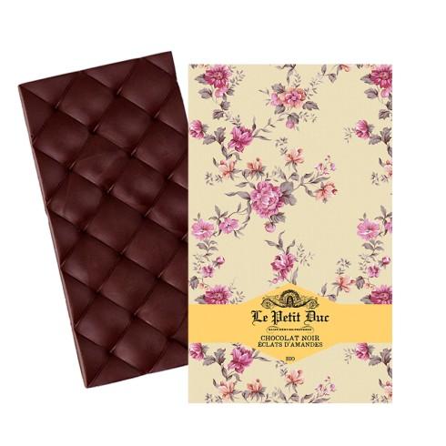 Tablette Chocolat Noir Eclat Amandes 70g