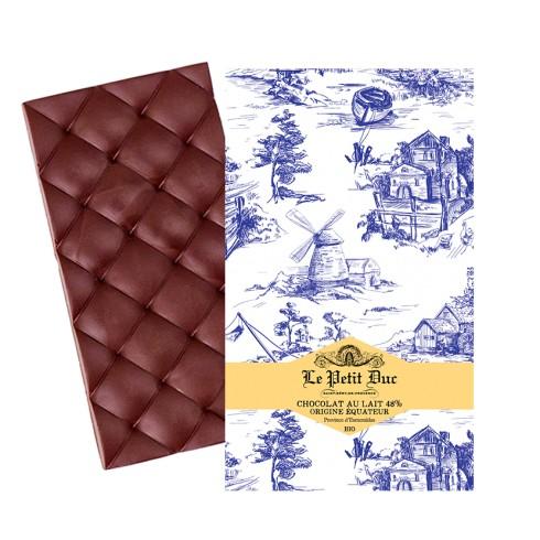 Tablette Chocolat au Lait 48% Bio Petit Duc 70g
