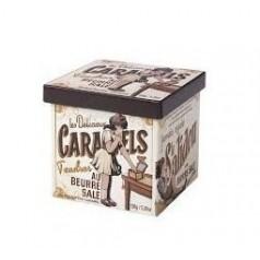 Boîte fer caramels beurre salé Servez Vous Maison d' Armorine - 150g