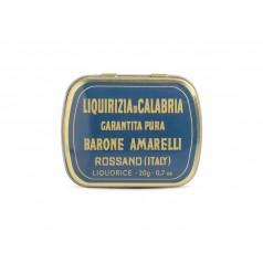 Pure Liquorice Drops Barone - Amarelli 20g