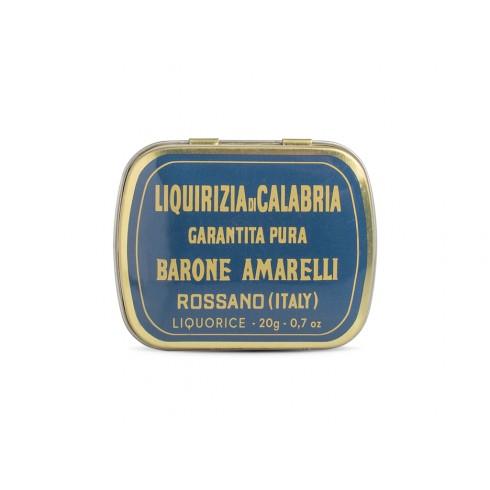 Boite Réglisse Pure Barone - Amarelli 20g