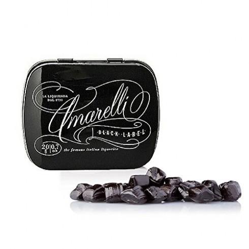 Boite Réglisse Black sans gluten Amarelli 20g