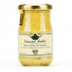 Moutarde Basilic - 105g Pot 10cl