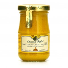 Moutarde Curry de Madras - 105g Pot 10cl