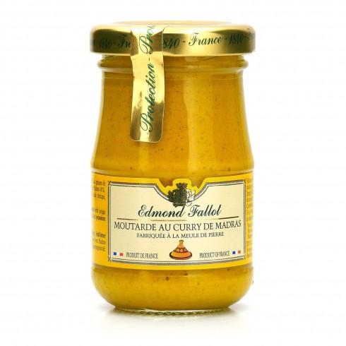 Moutarde Curry de Madras  Fallot 105g