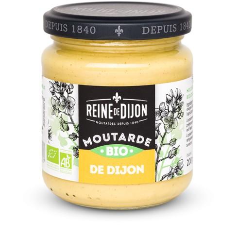 Moutarde de Dijon BIO  Reine de Dijon 200g