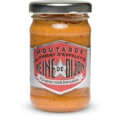 Moutarde au Piment d'Espelette-100g Reine de Dijon