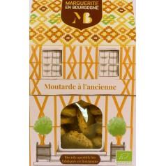 Boîte Biscuits apéro bio moutarde à l'ancienne  90g