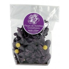 Packet of crystallised Violets 60g