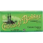 """Tablette Cacaco Cusco """"Pérou"""" Noir 75% - Bonnat 100g"""