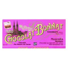 """Milk Chocolate 65% Bonnat 100g """"Morenita - Mexique"""""""