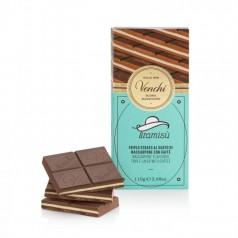 Tablette Chocolat Lait Tiramisu Venchi 110g