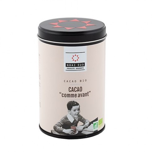 "Cacao BIO  ""Comme Avant"" Quai Sud 250g"