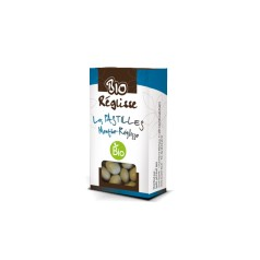 Pastilles Menthe Réglisse Bio 25g