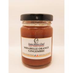 Mirabelle Orange Ginger jam 110g