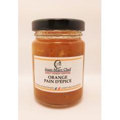 Confiture Orange Pain d'Epices   110g