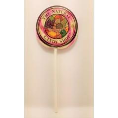 Maxi Sucette Twirl Pop Cerise 42g