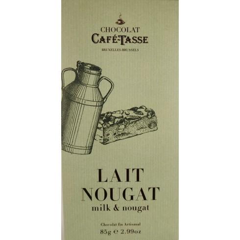 Tablette Lait Nougat  CaféTasse 85g