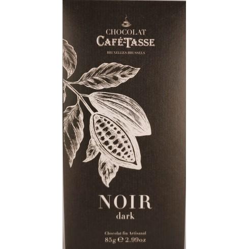 Tablette Noir  CaféTasse  85g