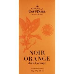 Dark Chocolate & Orange 85g CaféTasse