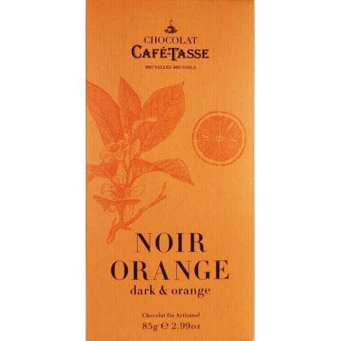 Tablette Noir Orange CaféTasse 85g