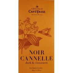 Dark Chocolate & Cinnamon 85g CaféTasse
