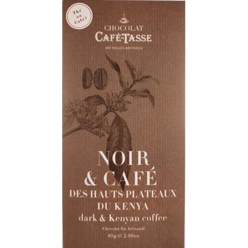 Tablette Noir & Café CaféTasse 85g