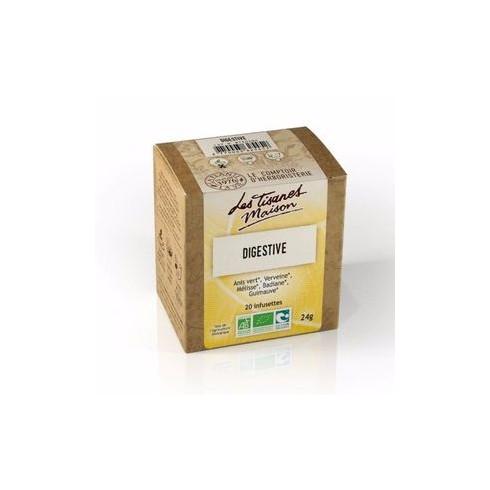Tisane 20 infusettes Digestive Bio 24g