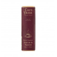Dark chocolade with passion fruit filling Bar 45g