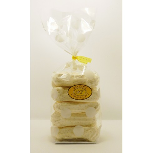 Meringues au pain d'épice Les Arcelottes 70g