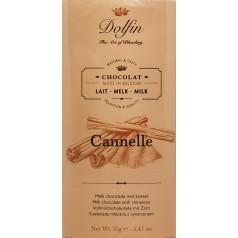 Milk chocolate with cinnamon Dolfin 70g