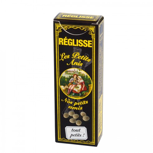 "Box ""Petits Anis"" liquorice -18g"