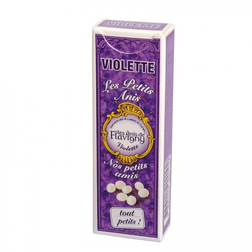"Etui ""Petits Anis"" Bonbons Violette 18g"