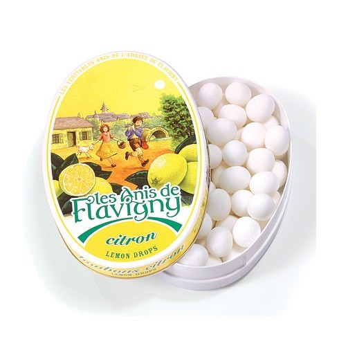 Boîte ovale - Bonbons Citron 50g