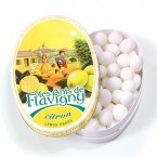 OVAL TIN 50g LEMON