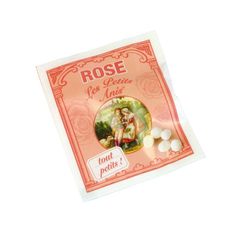 """Petits Anis"" Bonbons Rose (100 sachets) 200g"
