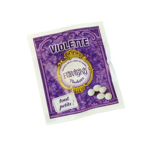"""""""Petits Anis"""" Bonbons Violette (100 sachets) 200g"""