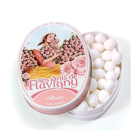 Boîte ovale - Bonbons Rose 50g