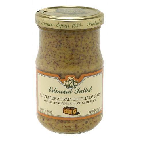 Moutarde pain d'épices - 105g Pot 10cl