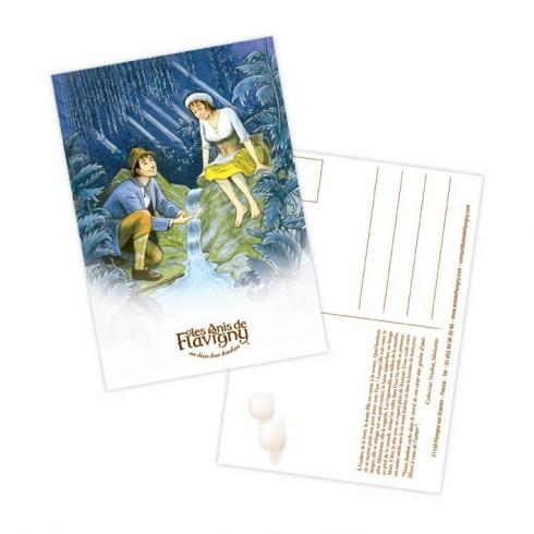 Carte postale - Menthe