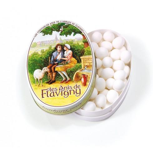 Boîte ovale - Bonbons Anis 50g