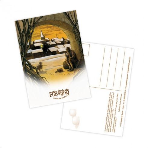 Carte Postale - Réglisse