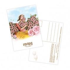 Carte Postale - Rose