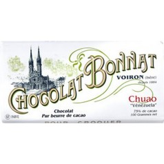 "Black Chocolate (75%) Bonnat 100g ""Chuao - Vénézuela"""
