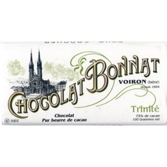 "Black Chocolate (75%) Bonnat 100g ""Trinité - Antilles"""