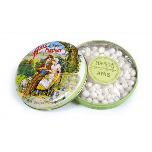 Boîte ronde Bonbons Anis 190g