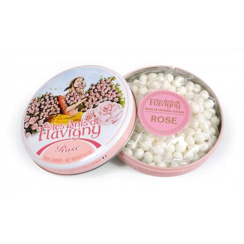 Round tin Rose - 190g